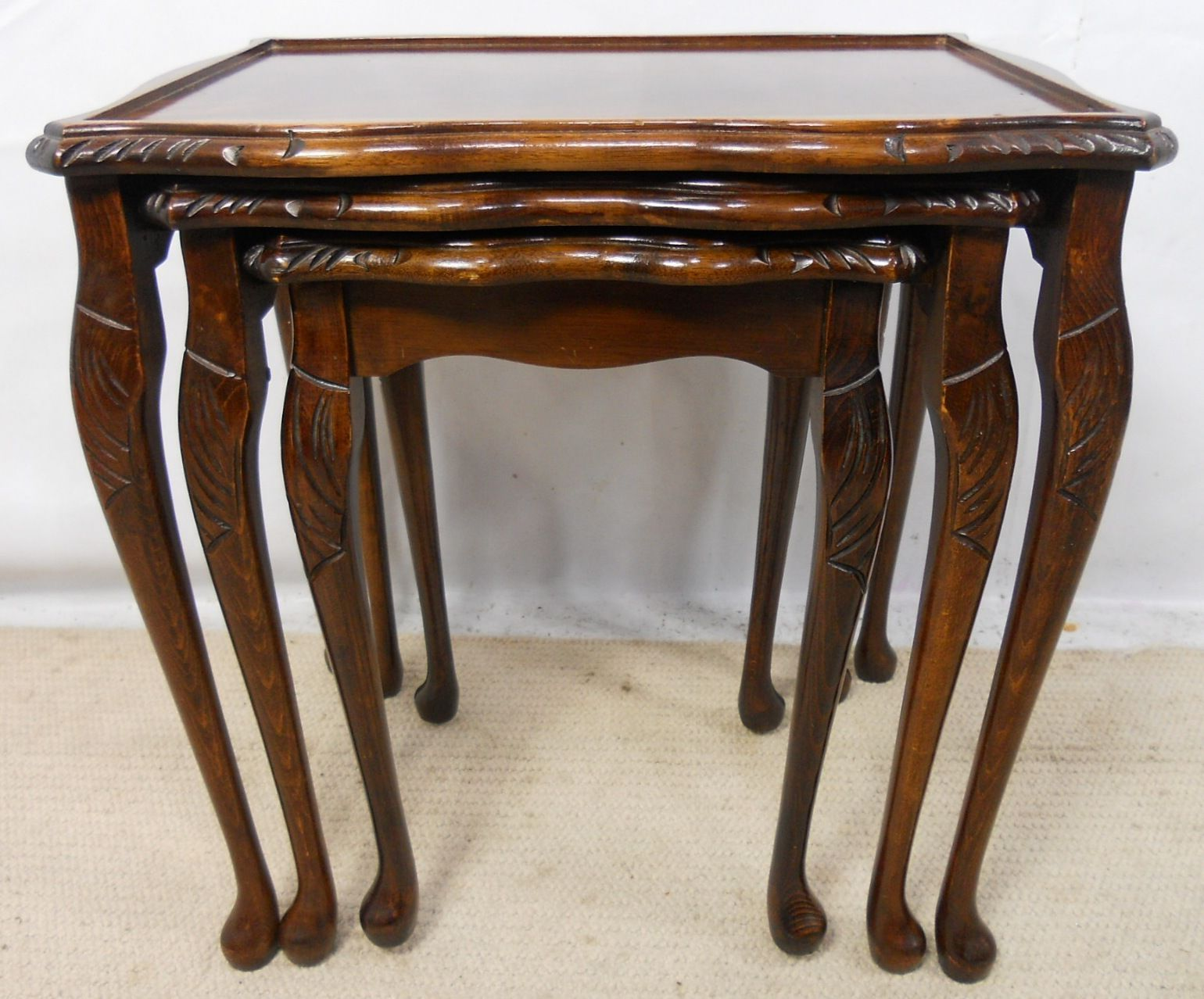 Queen Anne Style Coffee Table Rascalartsnyc